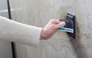 Prox access card reader
